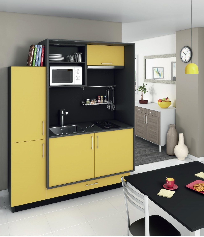 Kompos jaune cuisina - Nouveau concept meuble ...
