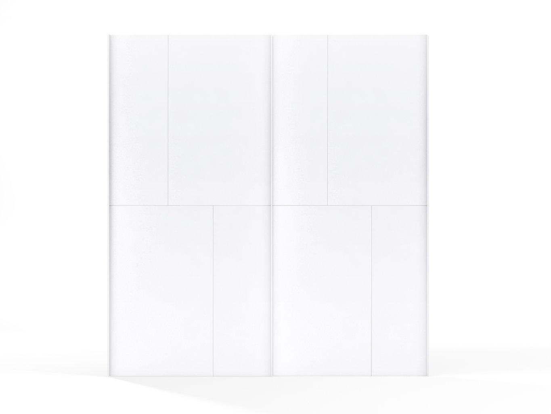 no limit 36 porte coulissante blanc brillant cuisina. Black Bedroom Furniture Sets. Home Design Ideas