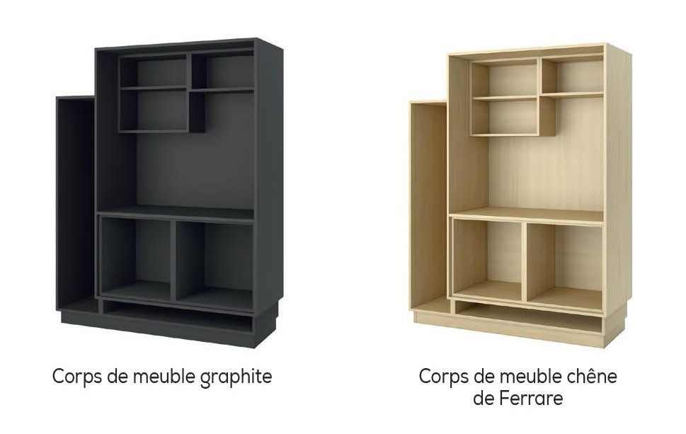 corps de meuble choix kompos cuisina. Black Bedroom Furniture Sets. Home Design Ideas