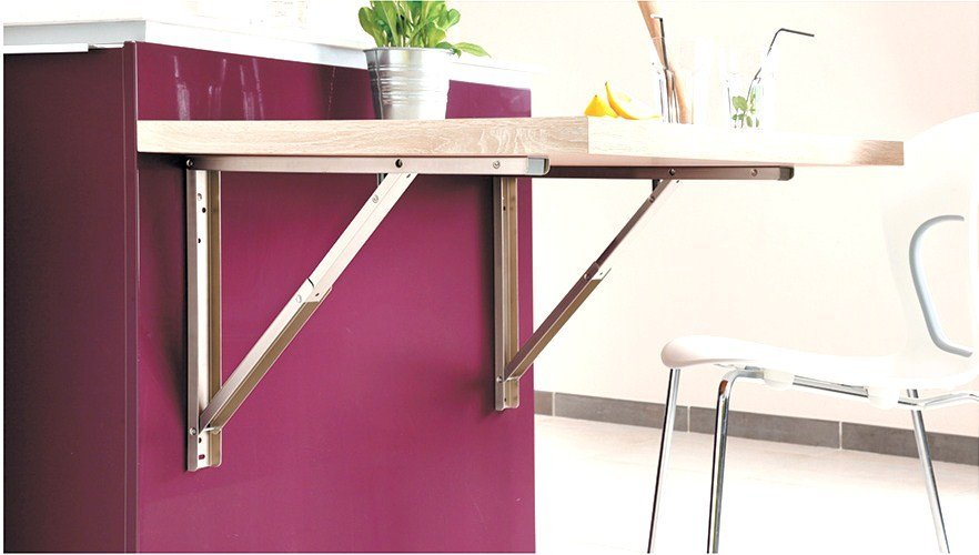 support table rabattable - Cuisina